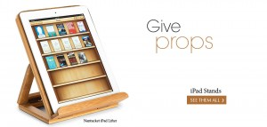 Give props - web banner