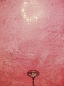 Detail - Venetian plaster ceiling