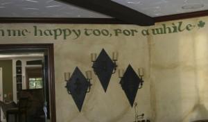Celtic / Irish decorative mural