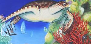 Sea Turtle - detail