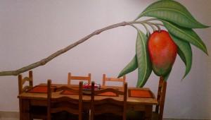 Mango mural