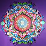 Mandala Mural Complete!!