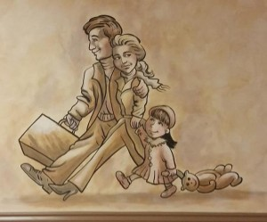 gyro-joint-mural-family