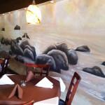 Christina's Cafe mural in Pompano Beach